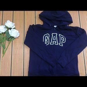 GAP Navy HOODIE SWEATER women/size m/